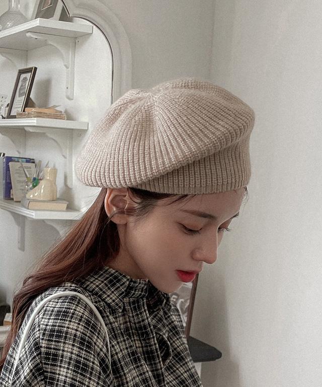 loveloveme-브레브 니트울베레모 | 럽미♡韓國女裝飾品