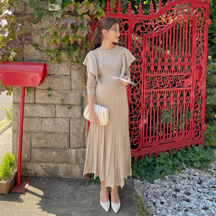 momnuri-임부복*날개천사 니트 원피스      ♡韓國孕婦裝連身裙
