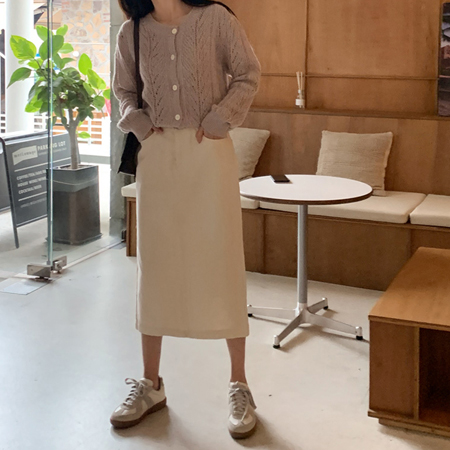 mimididi-[오트 스커트_3006]♡韓國女裝裙