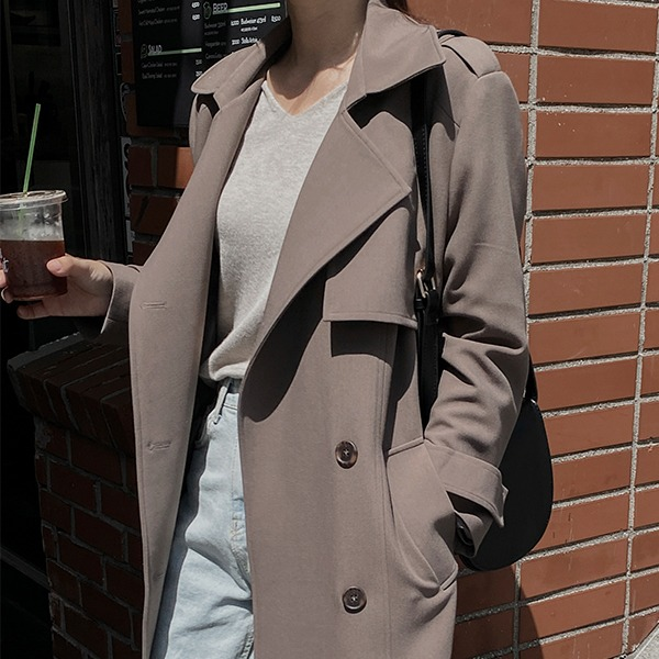 realcoco-♥어텀얼리버드4차 15%할인♥[무료배송]REALMADE런던 트렌치코트(리뉴얼ver.)♡韓國女裝外套