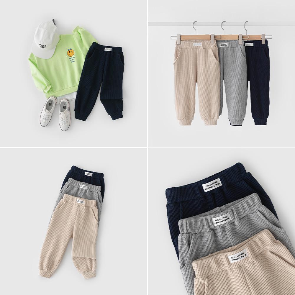 little-bro-리코와플팬츠[팬츠BDG723]♡韓國童裝褲