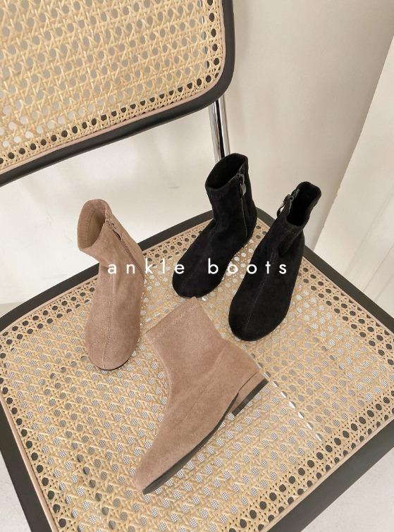 stylenoriter-[CBF] 레이 스웨이드 앵클 부츠.sho♡韓國童裝鞋