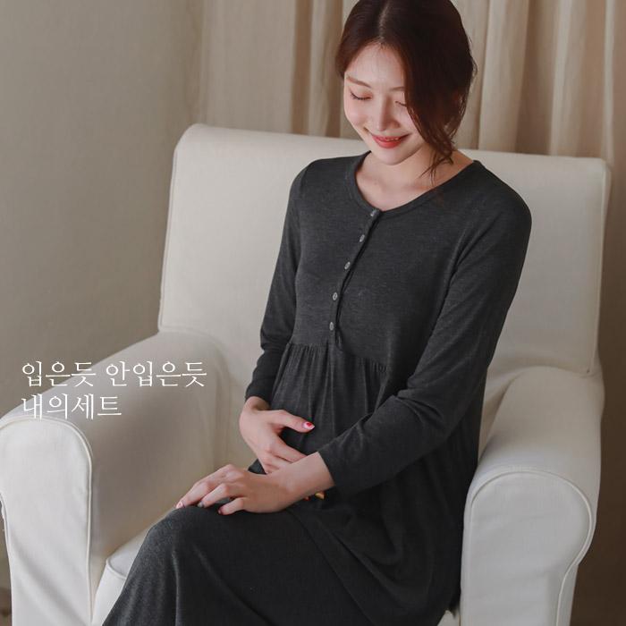 momnuri-[라벨D]입은듯안입은듯 내의세트*임부복 ♡韓國孕婦哺乳服