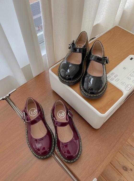 stylenoriter-[CBF] 도로시 에나멜 단화.sho♡韓國童裝鞋