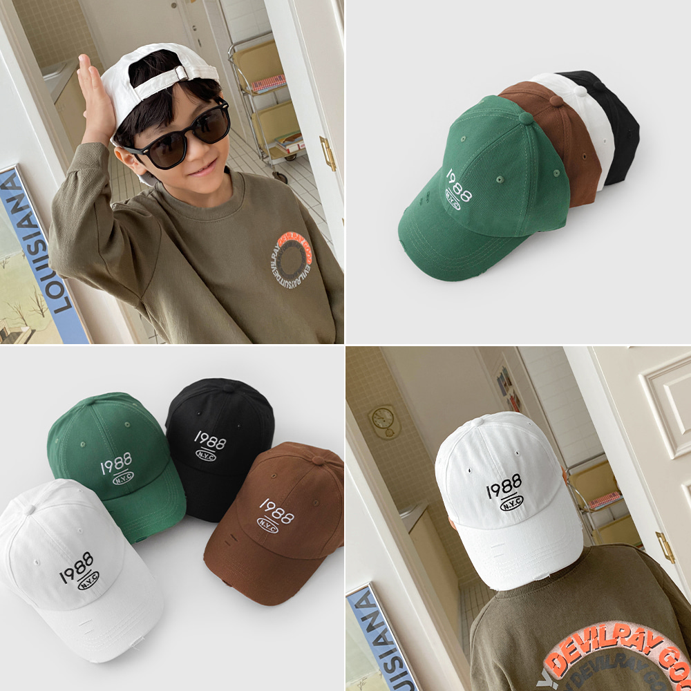 little-bro-넘베이볼캡[모자BDG58]♡童裝帽