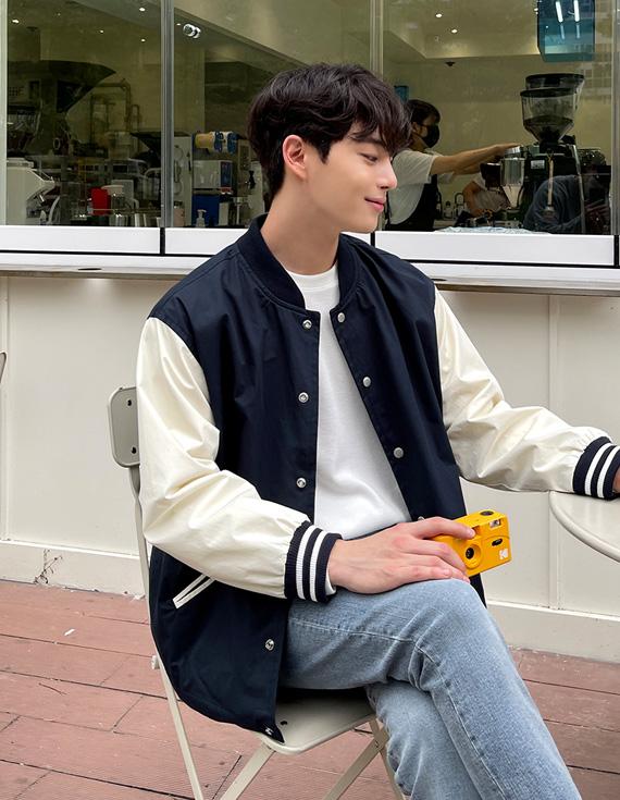 jogunshop-[스트루잉 스타디움 코튼 자켓.Free(95~105)]♡韓國男裝外套