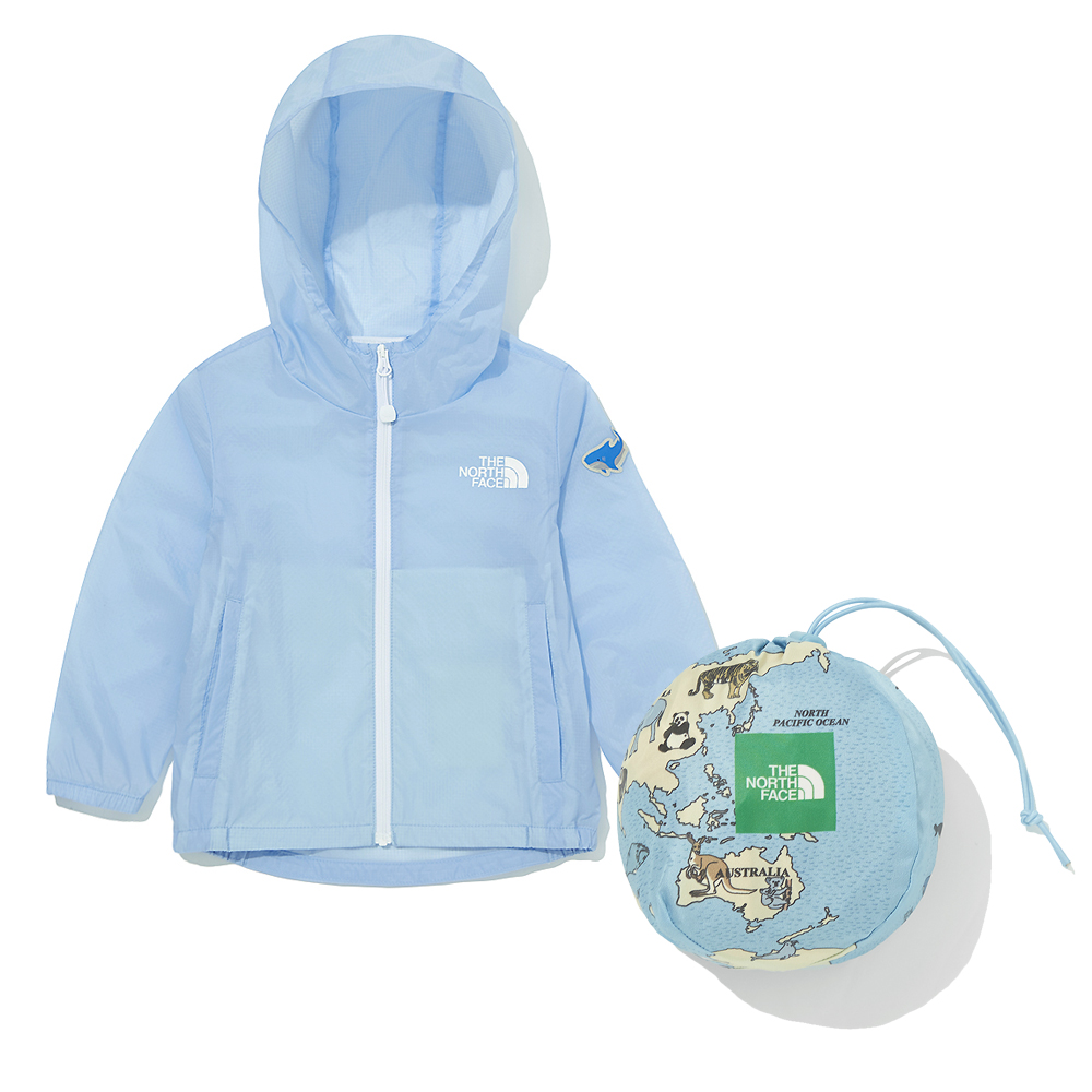 THE NORTH FACE-TODDLER GREEN EARTH JACKET