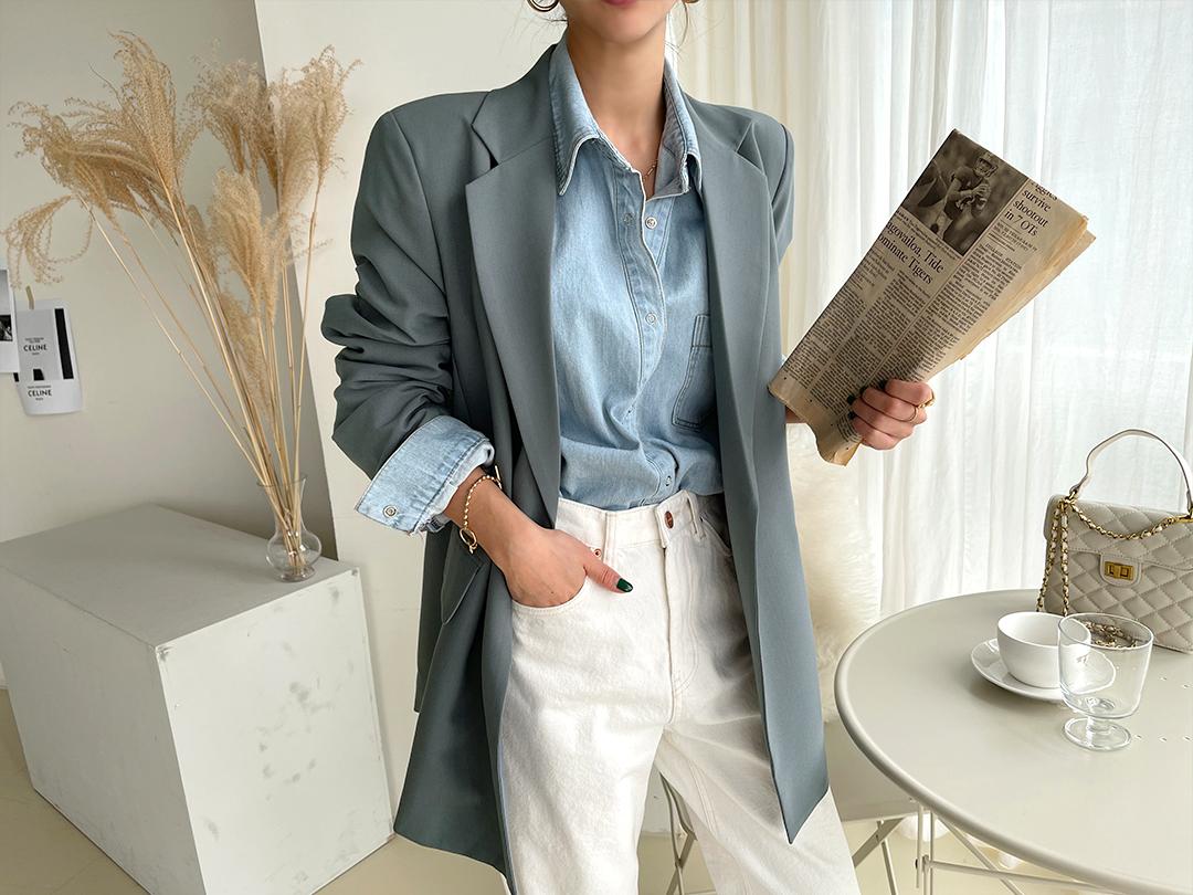 naning9-온티스 로브자켓(C09)♡韓國女裝外套
