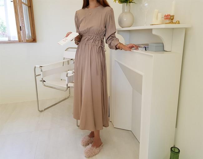 helloyoonsoo-와우라인 롱원피스♡韓國女裝連身裙