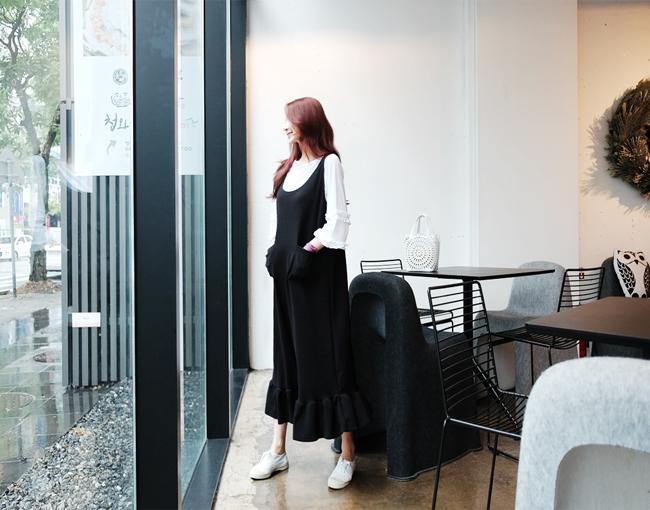 helloyoonsoo-맑은오후엔. ops♡韓國女裝連身裙