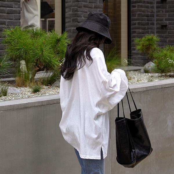 chicfox-칠드 오버핏티셔츠♡韓國女裝上衣