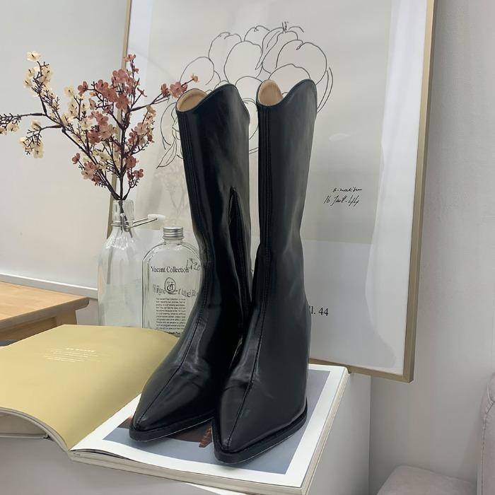 theresheis-쿠리온  웨스턴 부츠♡韓國女裝鞋