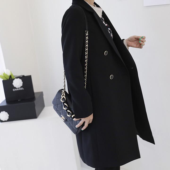 lemite-더블비 롱자켓♡韓國女裝外套