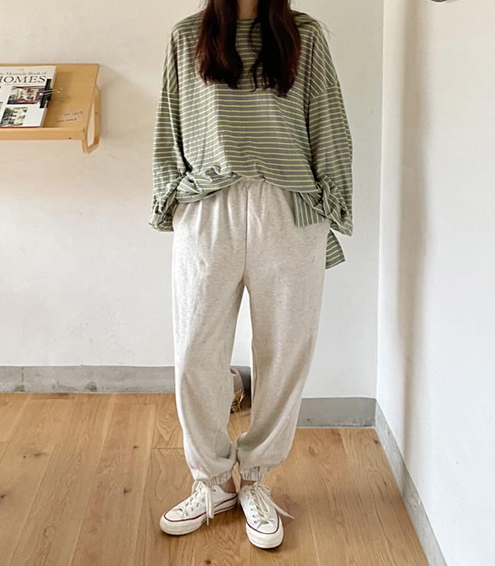 sibuya-[멜런지 쭈리 조거 pt]♡韓國女裝褲