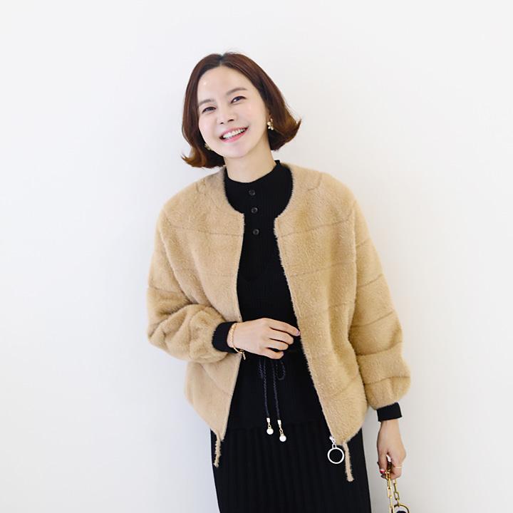 lemite-달달니트 집업자켓♡韓國女裝外套