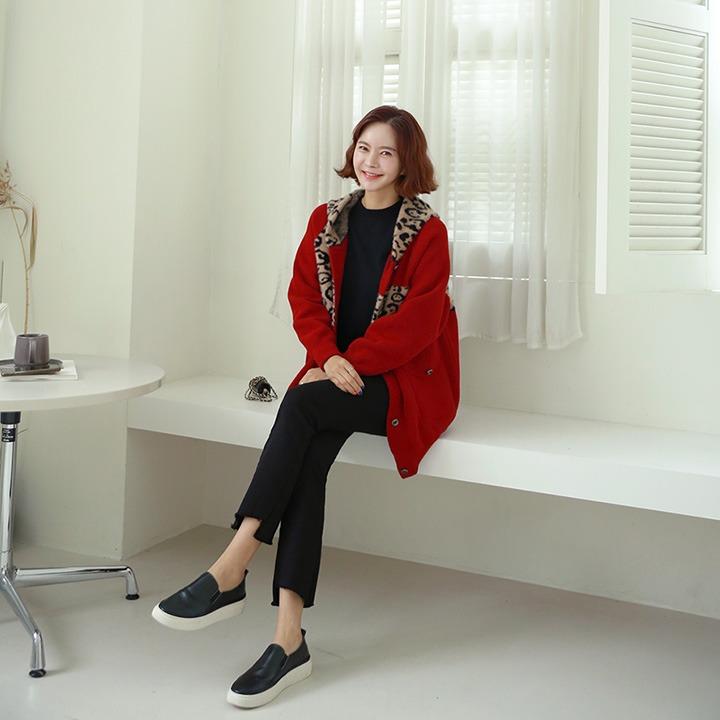 lemite-밍크호피후드 자켓♡韓國女裝外套
