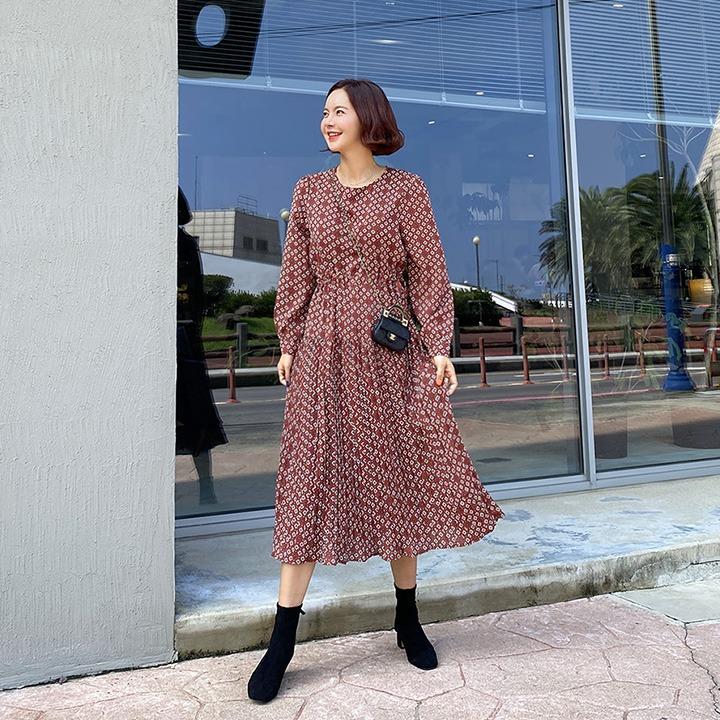 lemite-다이아 주름원피스♡韓國女裝連身裙