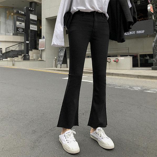 fashion-full-디렌 밴딩 부츠컷 팬츠(TIME SALE 15%)♡韓國女裝褲