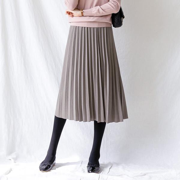 misscandy-[no.21138 벨트세트 허리밴딩 플리츠스커트]♡韓國女裝裙