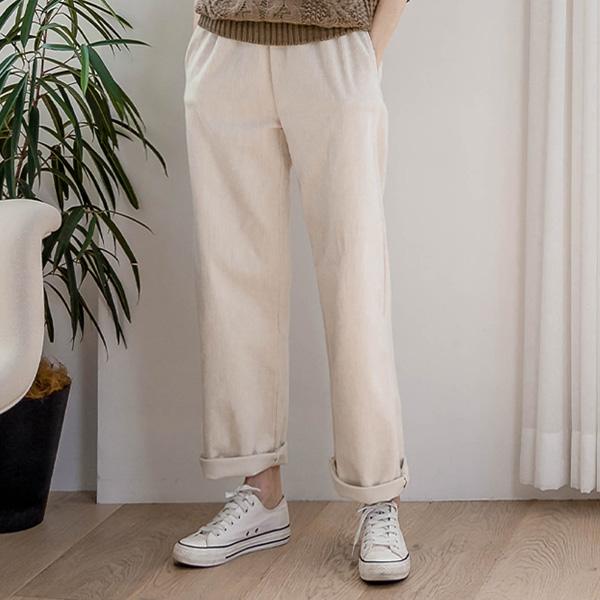 misscandy-[no.21146 스판혼방 와이드핏 코듀로이팬츠]♡韓國女裝褲