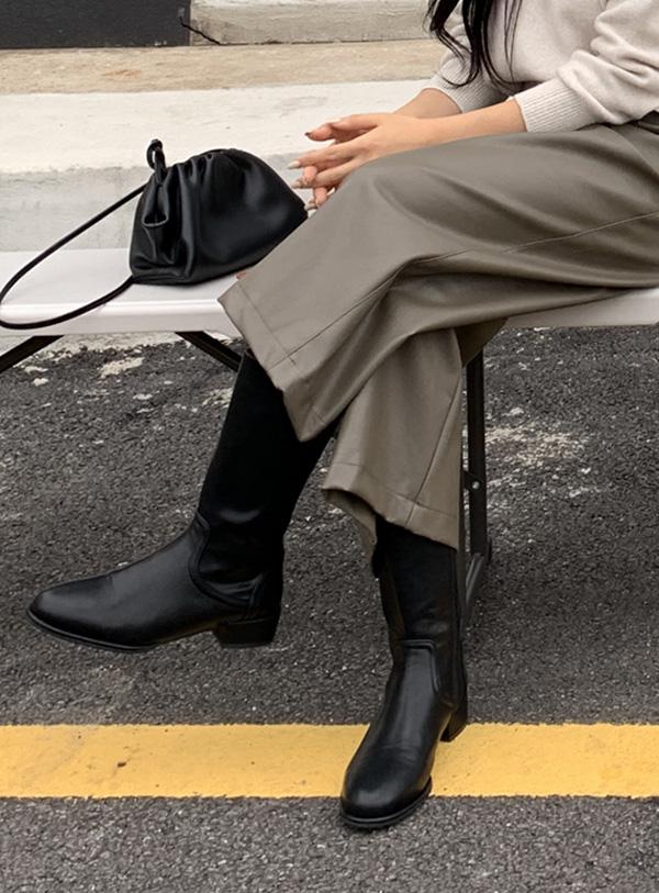uptownholic-[슬림 미들 앵클부츠]♡韓國女裝鞋