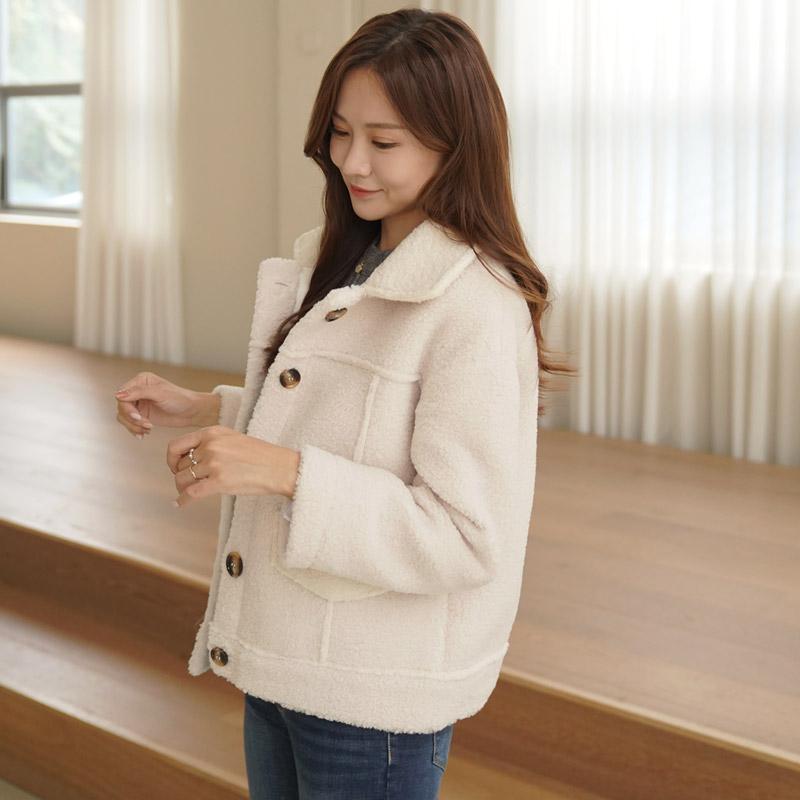 clicknfunny-리블란 덤블자켓♡韓國女裝外套