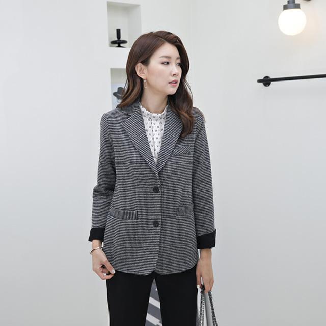 tiramisu-503첼시울기본자켓♡韓國女裝外套