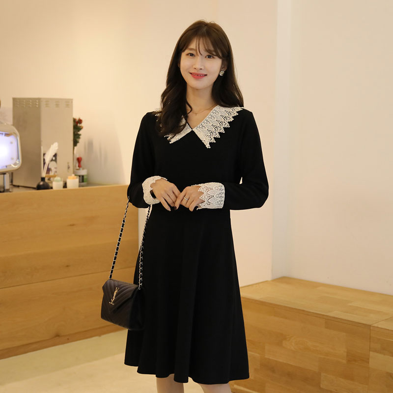 clicknfunny-빈델로 레이스원피스[FREE,L사이즈]♡韓國女裝連身裙
