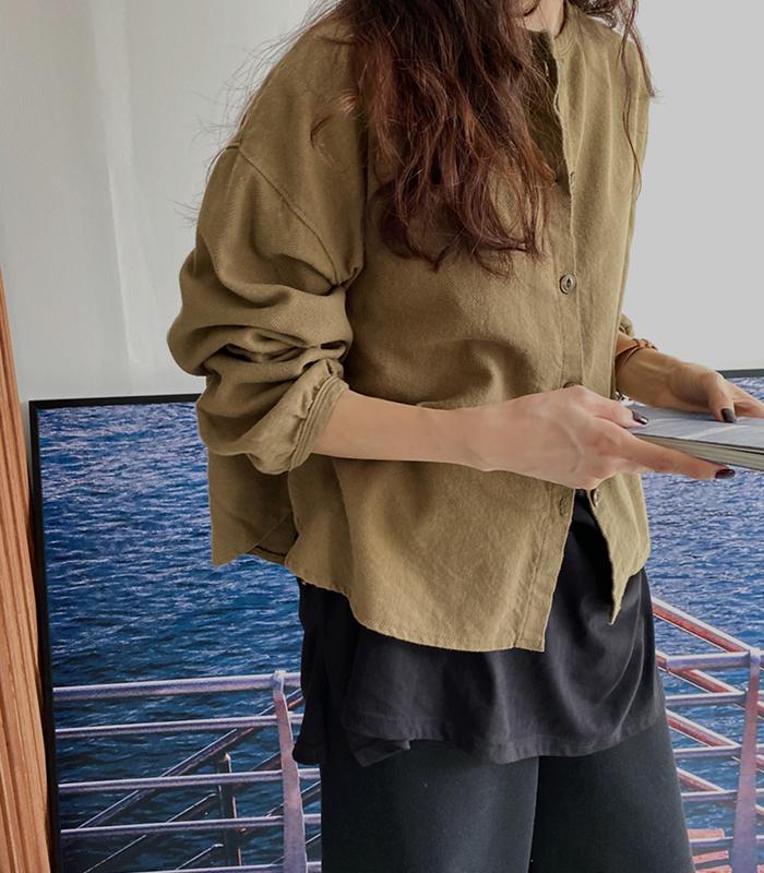 sibuya-[에디 라운드 NB]♡韓國女裝上衣