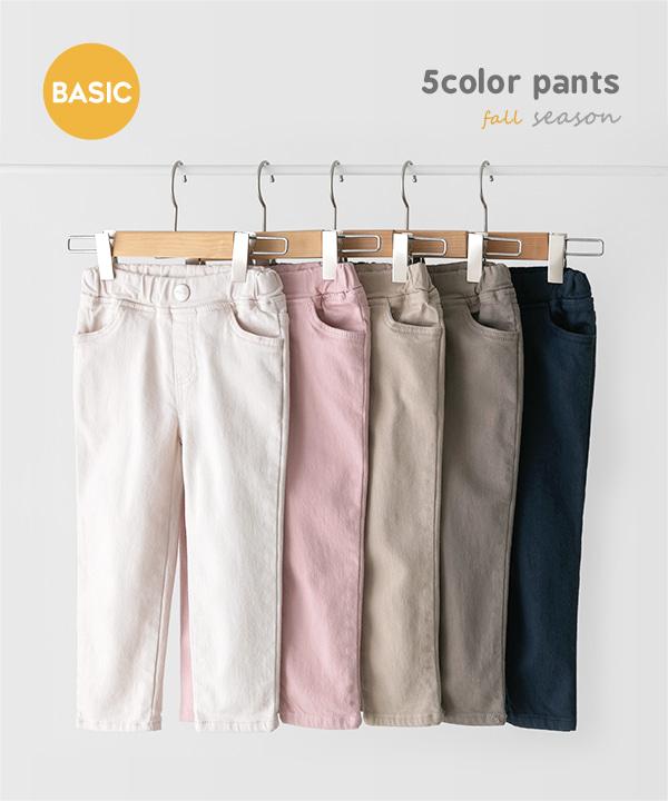 harukids-컬러박스팬츠[팬츠BDJA36]♡韓國童裝褲