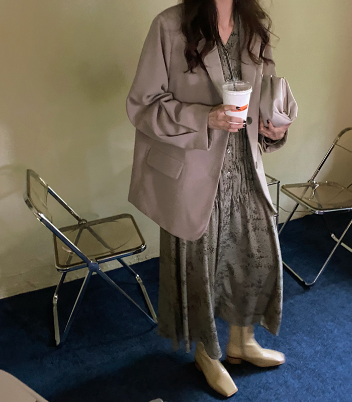 sibuya-[인버티드 슬리브 JK]♡韓國女裝外套