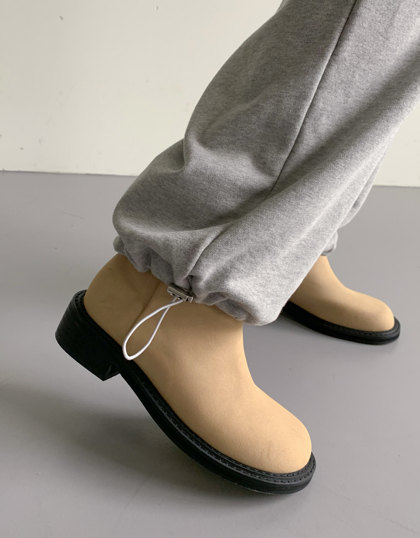 blackup-롬트아 라운드 미들부츠♡韓國女裝鞋