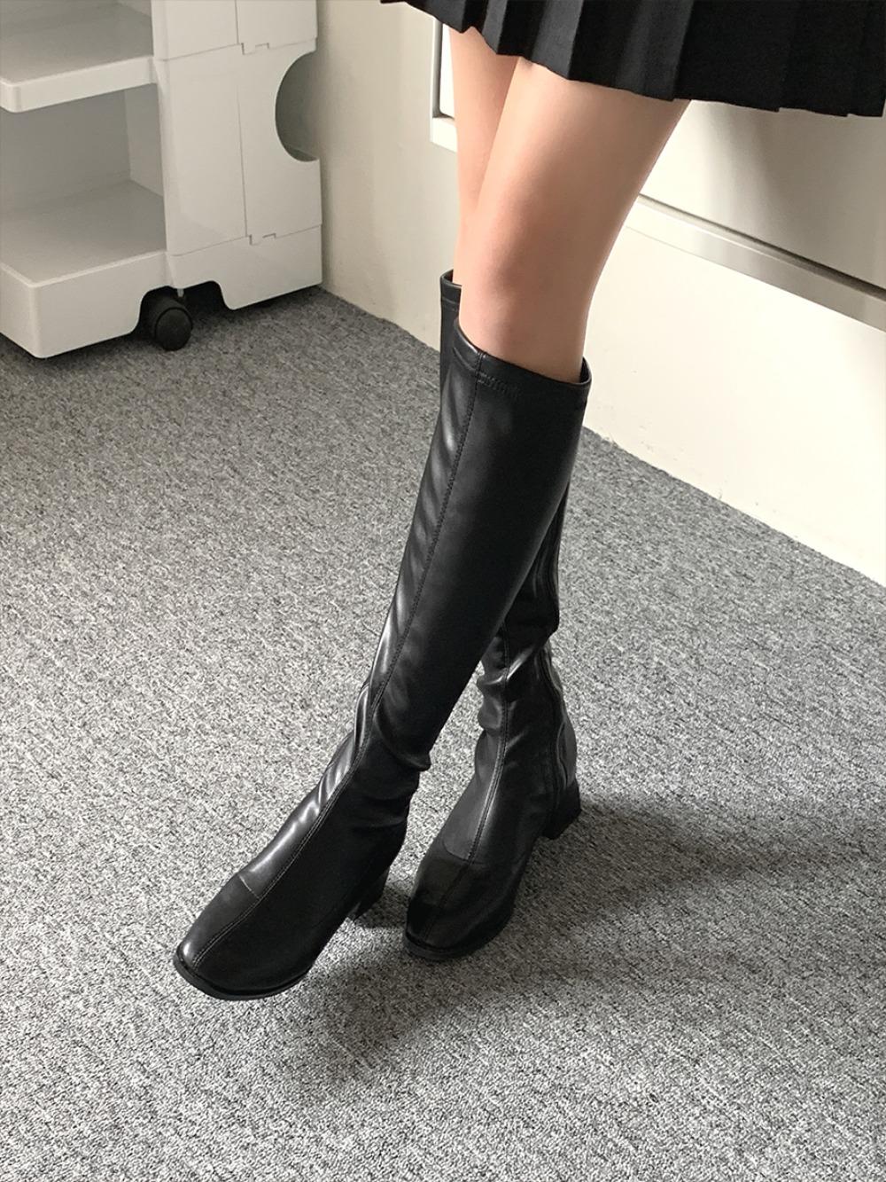 k-club-[기획특가]첸티브 롱 부츠♡韓國女裝鞋