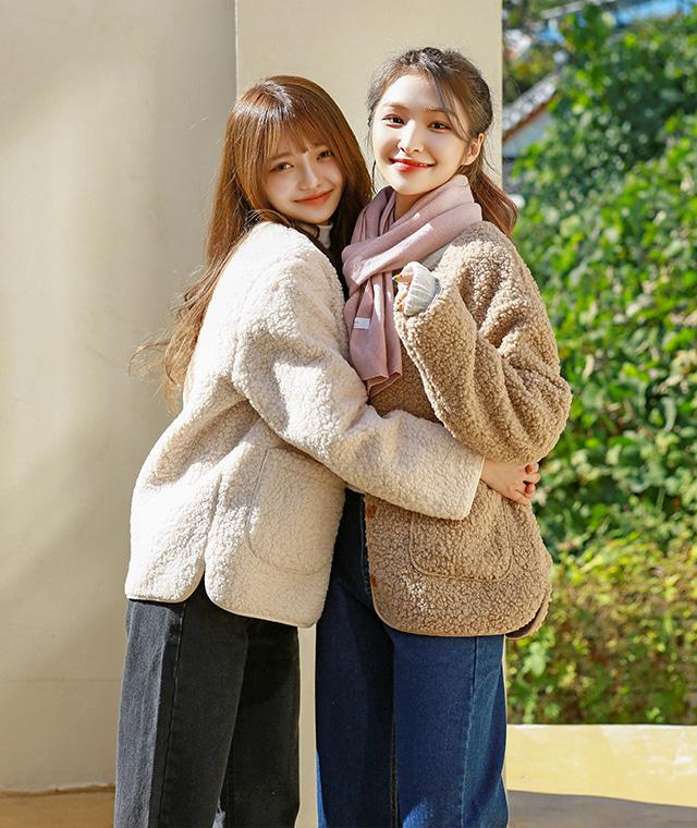kikiko-뽀그리가디건♡韓國女裝外套