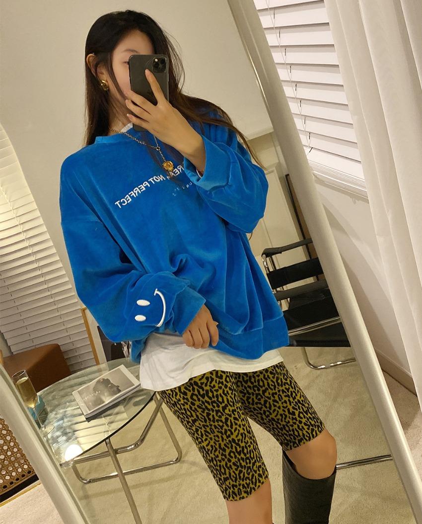 myclassy-muffin velor sweatshirt♡韓國女裝上衣