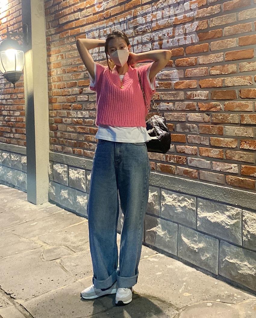 myclassy-slow wide denim pants♡韓國女裝褲