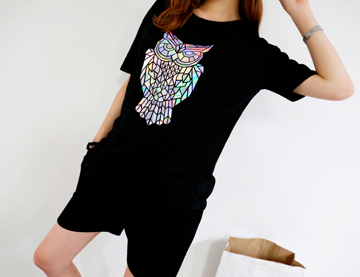 pinksisly-[SET]글리터부엉이 4부 트레이닝세트     ♡韓國女裝套裝