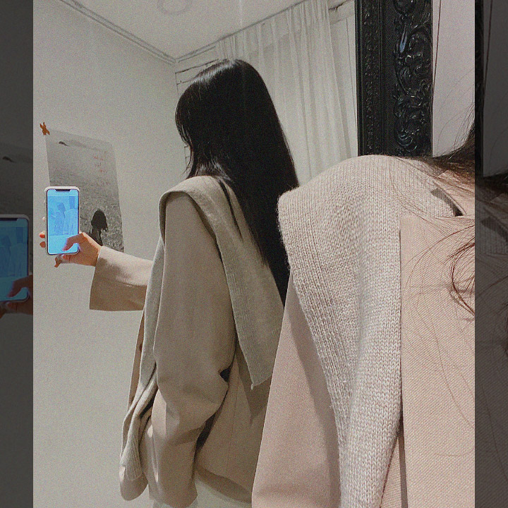lagirl-캐시미어숄니트-acc♡韓國女裝飾品