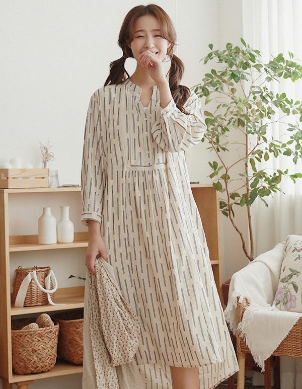 goroke-[휴 면셔츠 원피스*2c]♡韓國女裝連身裙