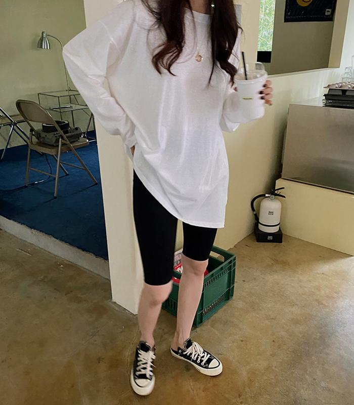 sibuya-[쟈니코튼 레이어티셔츠]♡韓國女裝上衣