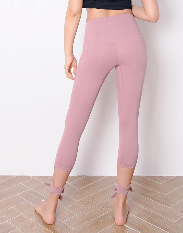 chamar-[CP151 메르시 리본(네추럴핑크)]♡韓國瑜伽女裝褲