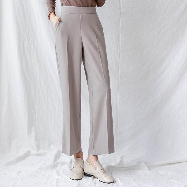 misscandy-[no.21112 뒷밴딩 와이드핏 스판슬랙스]♡韓國女裝褲
