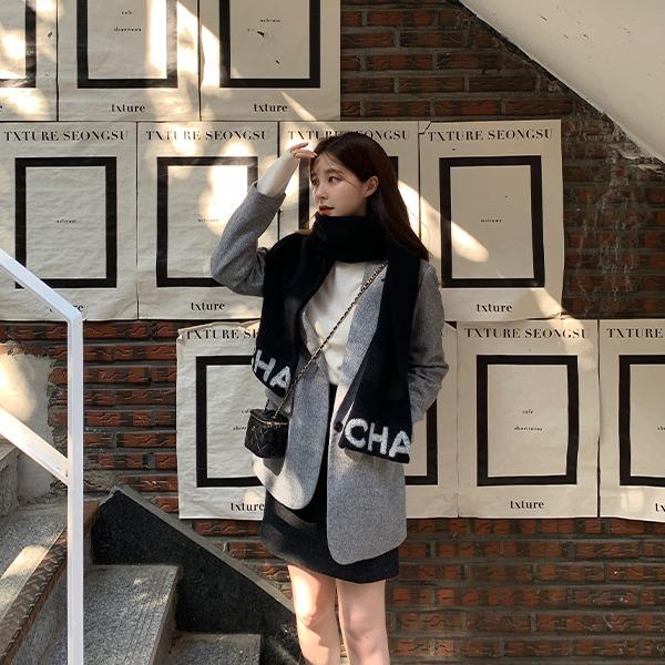 benito-[made] #단 5일간_2만원 할인 #주문폭주 로랜드 울 헤링본 자켓 신상/베스트/간절기/가을여성/데일리♡韓國女裝外套